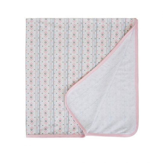 Sapling Child Navajo Snuggle Wrap Pink