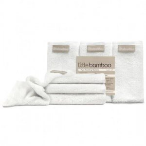 Little Bamboo Towelling Wash Cloth 3 Pack