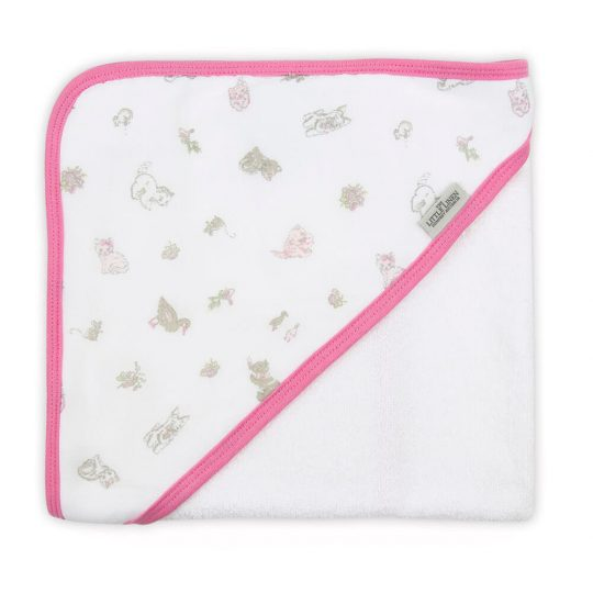 Little Linen Company Hooded Towel - Meow Meadow