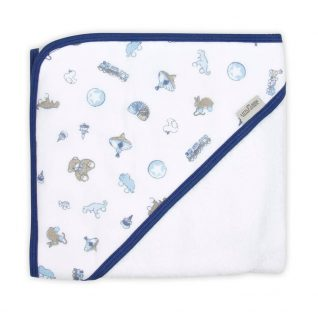 Little Linen Company Hooded Towel - Toy Parade
