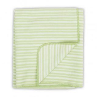 Green Little Linen Company Flannel Bassinet Blanket