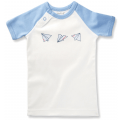 paper planes graphic tee organic cotton