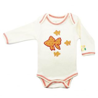 Fish Onesie Long Sleeve Organic Cotton